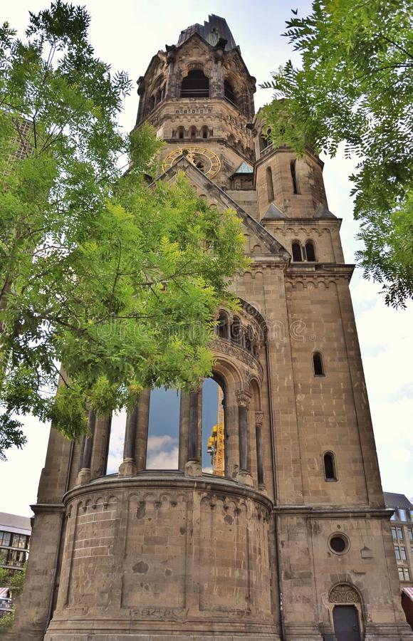 Kaiser Wilhelm Memorial Church, Berlin Germany photo libre de droits