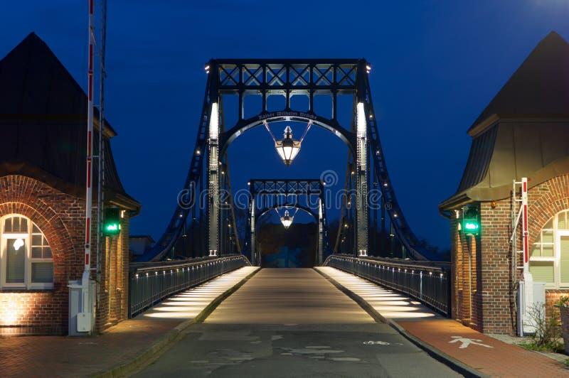 Kaiser-Wilhelm-pont image stock