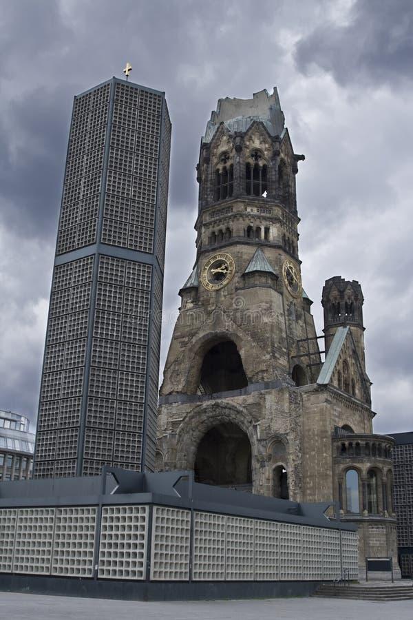 Kaiser William Denkmal-Kirche lizenzfreie stockfotos
