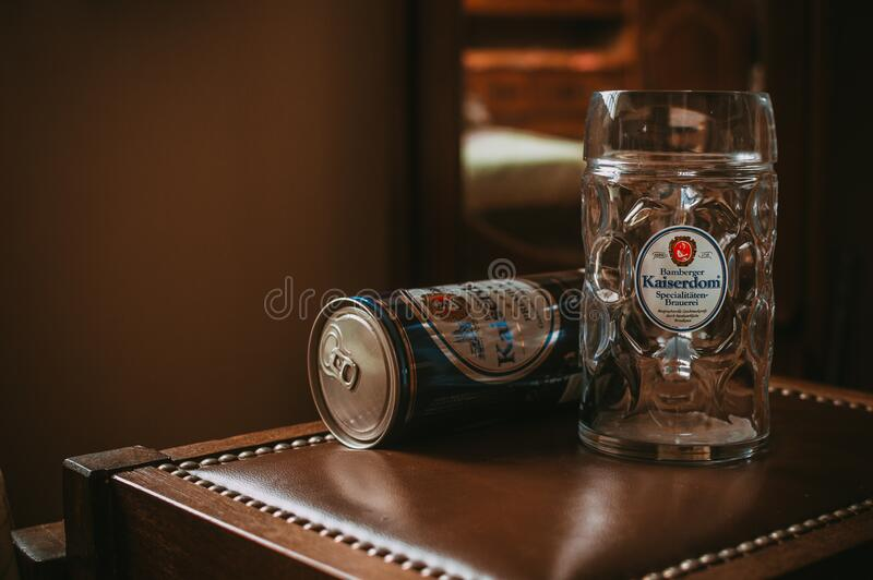 Kaiserdom Beer Stein And Can Free Public Domain Cc0 Image