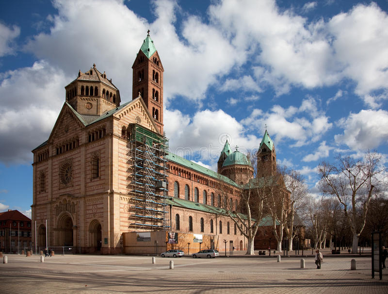 Kaiserdom Speyer Stock Photo