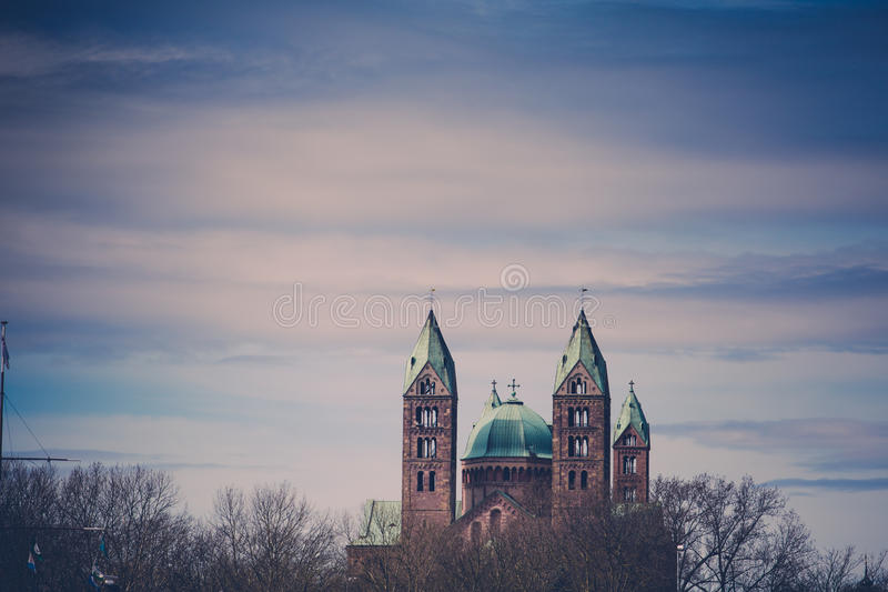 Kaiserdom Speyer photo libre de droits