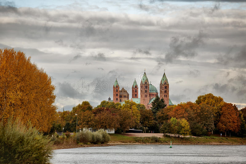 Kaiserdom Speyer στοκ εικόνες