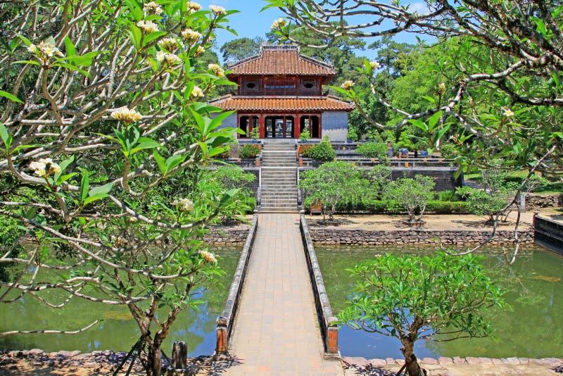 Kaisergrab von Minh Mang Hue, Vietnam UNESCO-Welterbestätte stockbilder