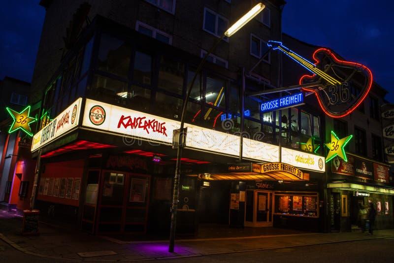 Kaiserkeller в Гамбурге стоковые изображения rf