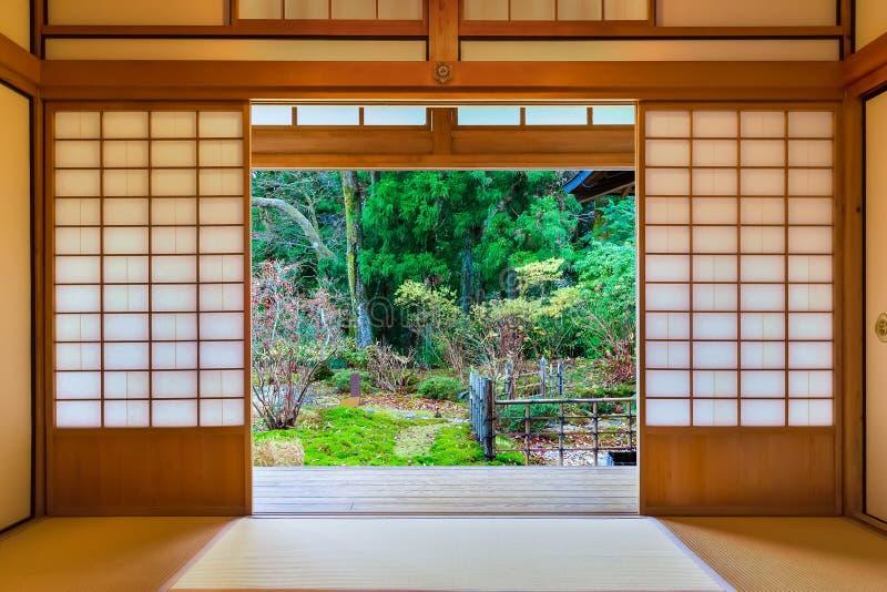 Kaiserlandhaus Tamozawa in Nikko, Japan stockfotografie