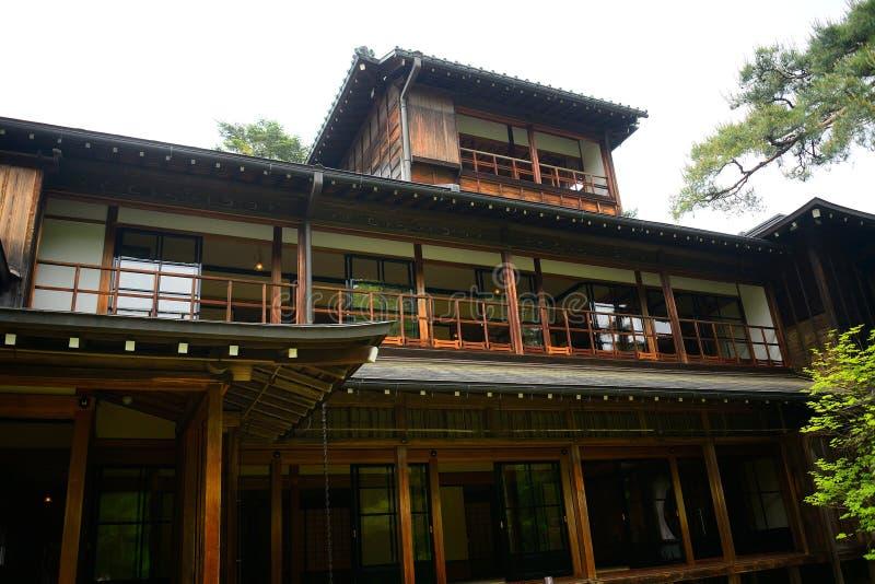 Kaiserlandhaus Tamozawa, Nikko, Japan lizenzfreie stockfotografie