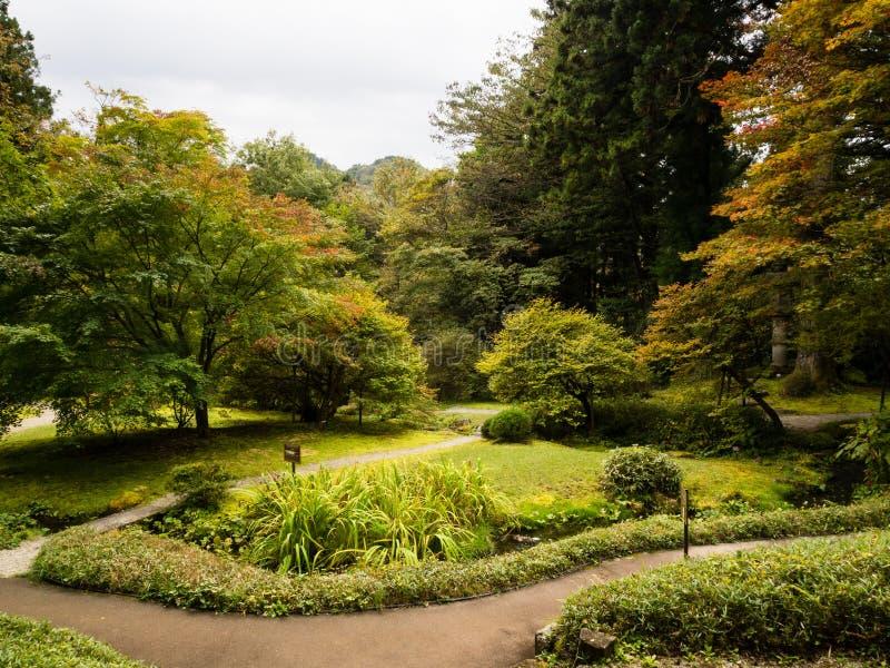 Kaiserlandhaus Tamozawa in Nikko, Japan lizenzfreie stockbilder