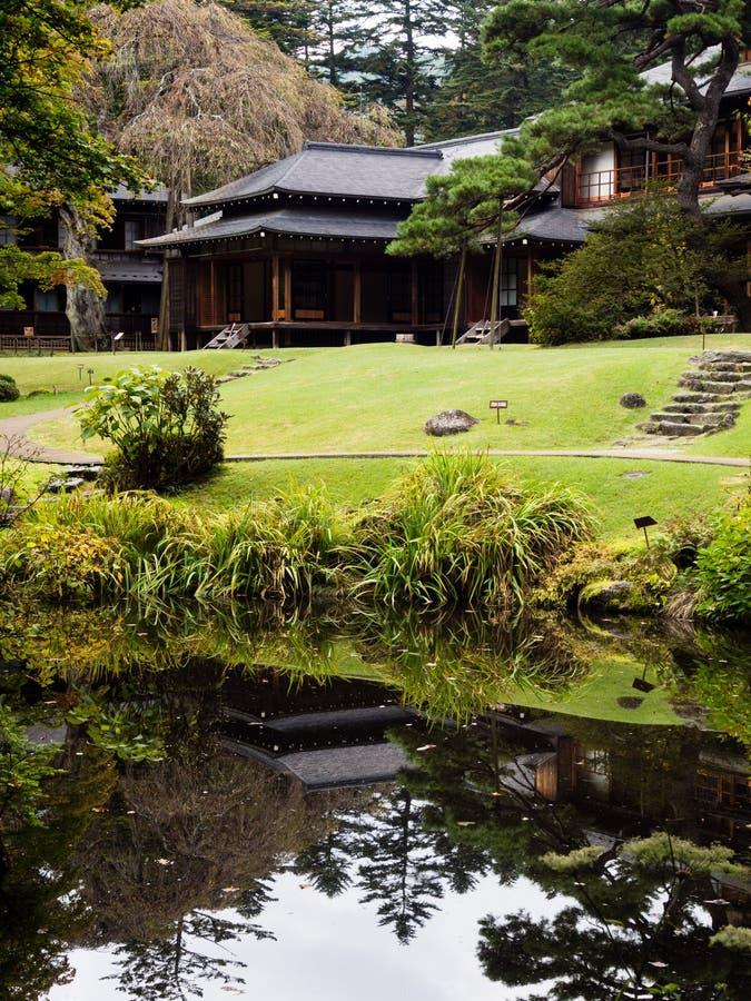 Kaiserlandhaus Tamozawa in Nikko, Japan lizenzfreie stockfotografie
