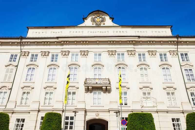 Kaiserpalast Hofburg, Innsbruck stockfotografie