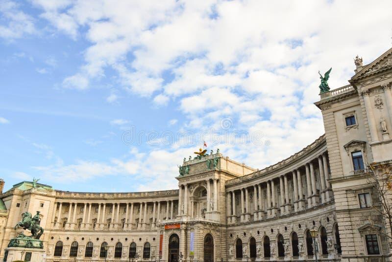 Kaiserpalast Hofburg - Wien Österreich stockbilder