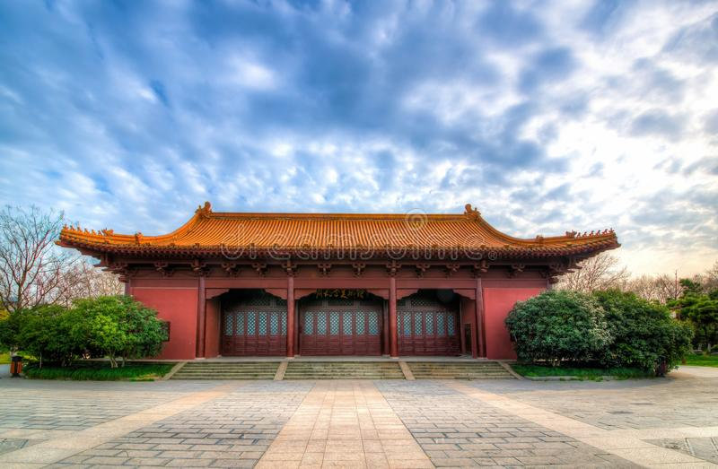 Kaiserpalast von Ming Dynasty in Nanjing, China lizenzfreie stockfotografie