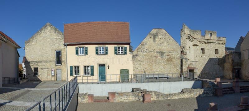 Kaiserpfalz dans Ingelheim, Allemagne photo stock