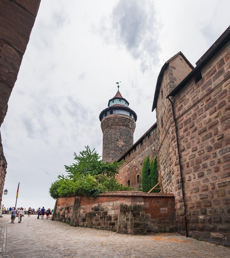 Kaiserschloss von Nürnberg in Nurnberg, Deutschland stockfoto