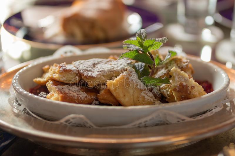 Kaiserschmarm Sweet royalty free stock photo