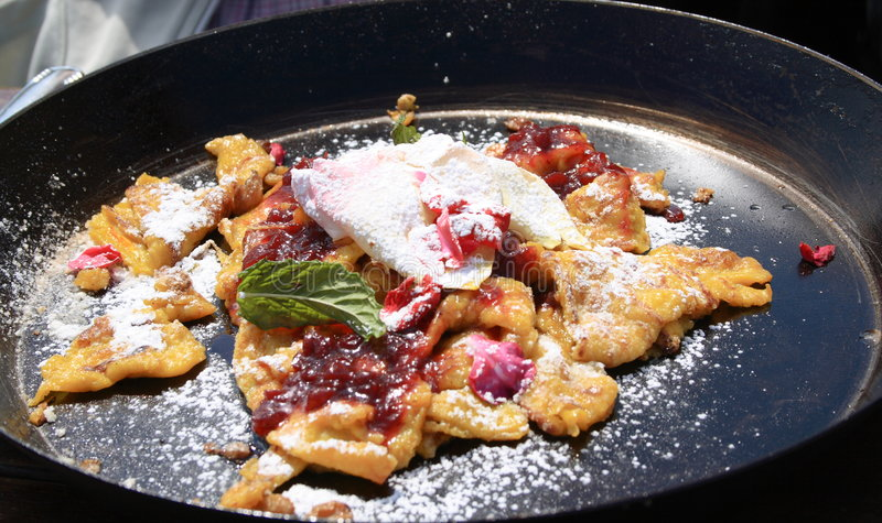 Kaiserschmarrn royalty free stock photos