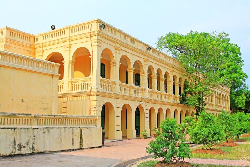Kaiserzitadelle von Thăng lang, Vietnam UNESCO-Welterbe lizenzfreie stockbilder