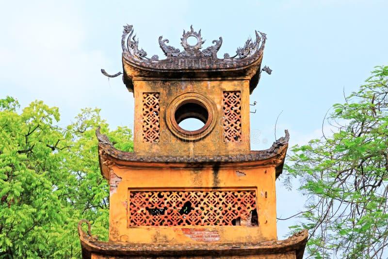 Kaiserzitadelle von Thăng lang, Vietnam UNESCO-Welterbe stockfotos