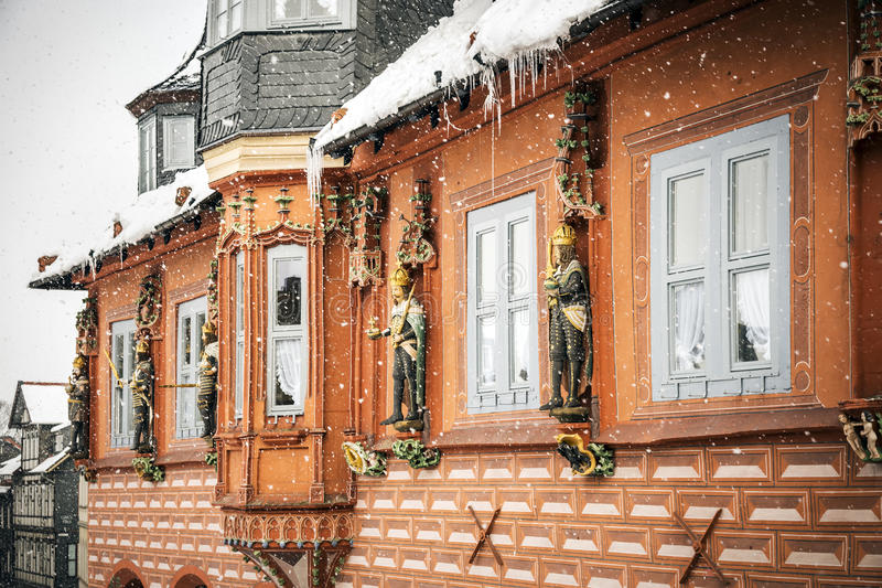 Kaiswerworth in Goslar, Deutschland stockbilder