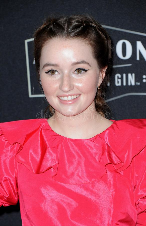 Kaitlyn Dever royalty free stock photography