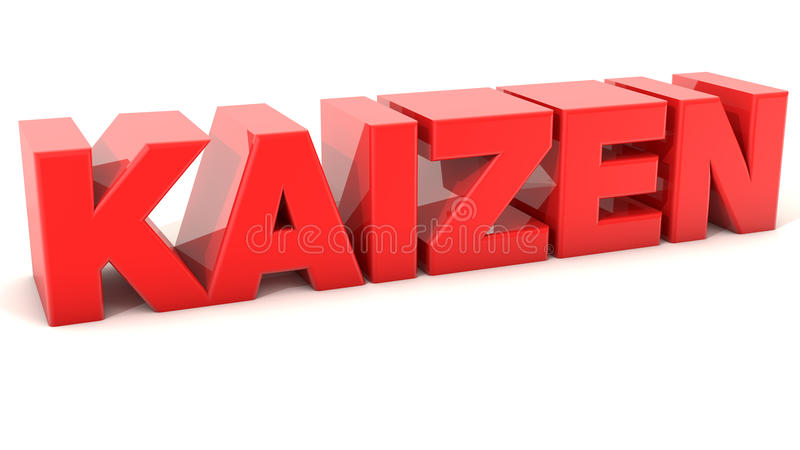 Kaizen vector illustratie