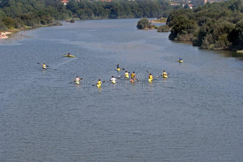 Download Kajak fotografering för bildbyråer. Bild av vatten, kanot - 976871