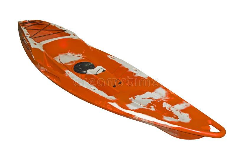 Kajak arancio immagini stock