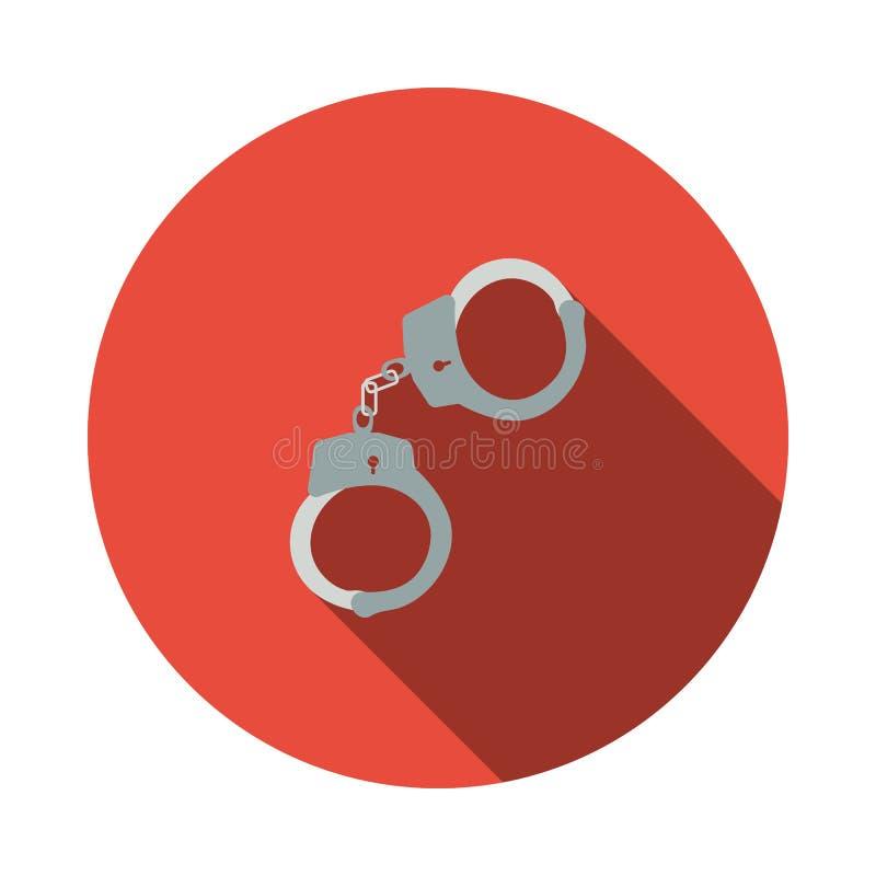 Kajdanki ikona ilustracji