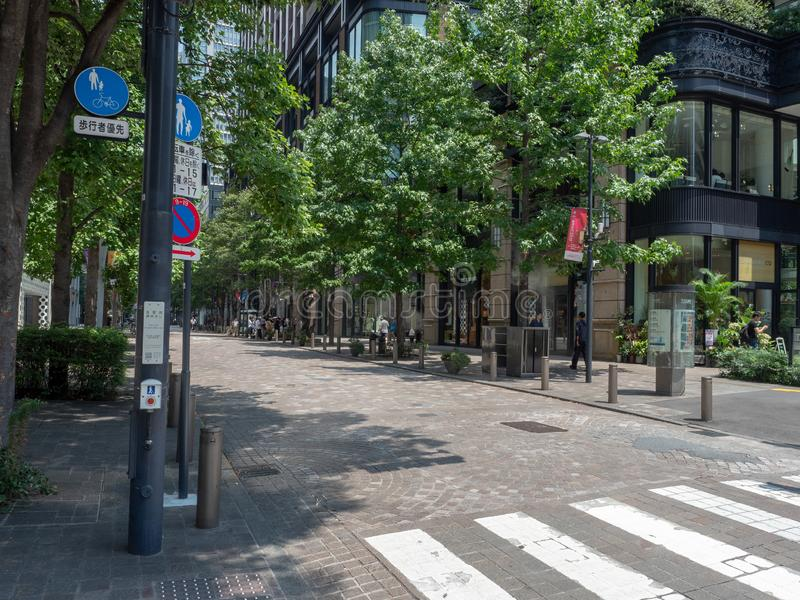Kajibashi-Doristraat, Tokyo royalty-vrije stock afbeelding