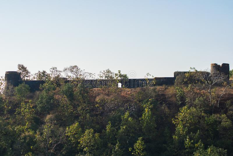 Kajligarh fort Indore arkivfoton