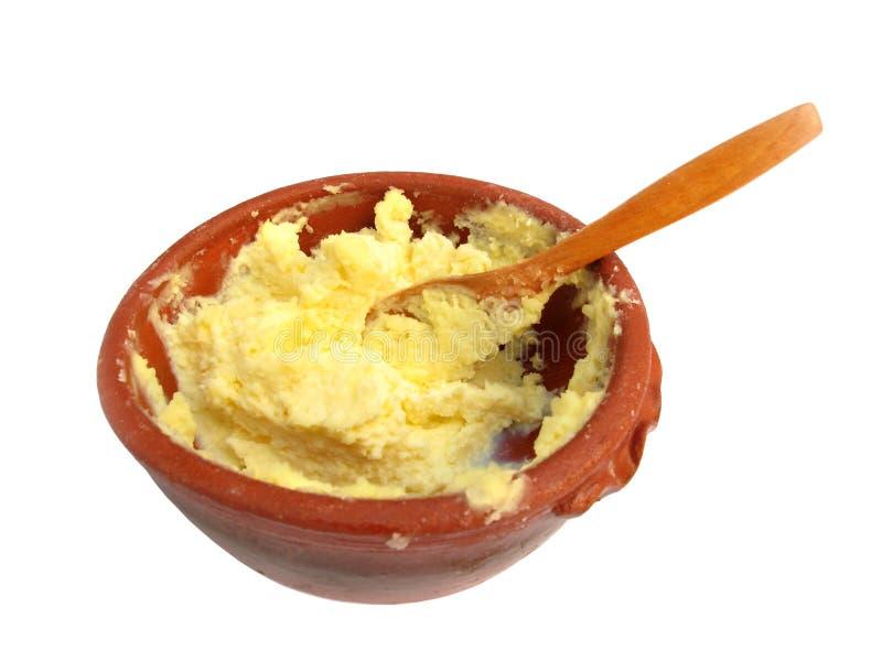 Kajmak dairy cream stock image