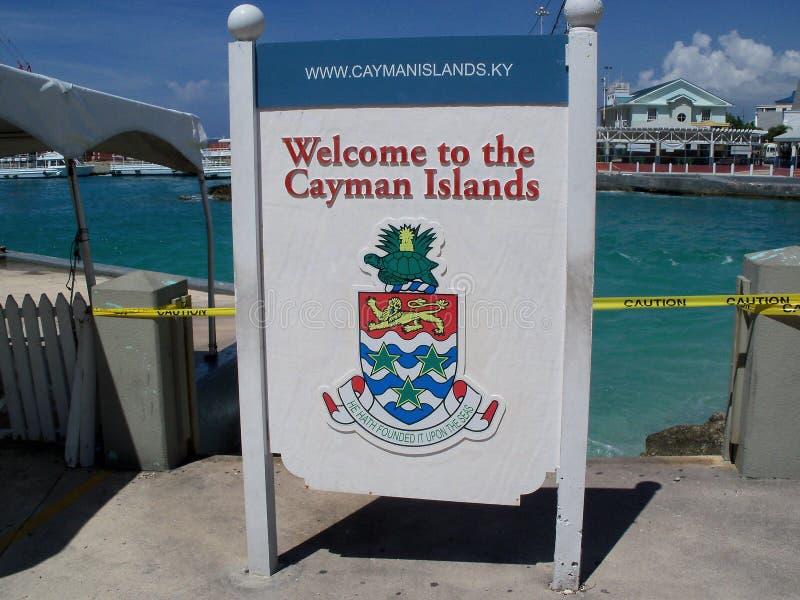 Kajman wyspy obrazy royalty free