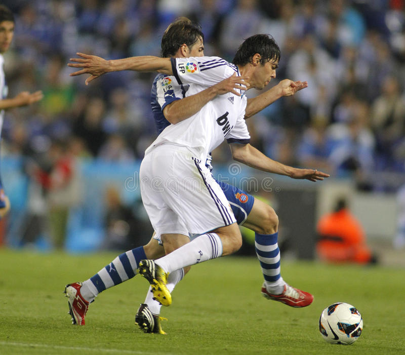 Kaka von Real Madrid lizenzfreie stockfotos