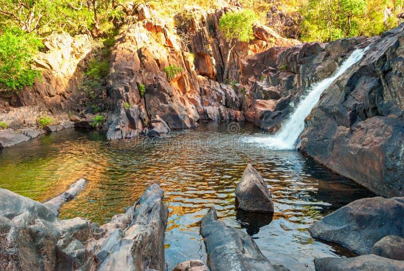 Kakadu National Park (Northern Territory Australia) landscape. Near Gunlom lookout stock image