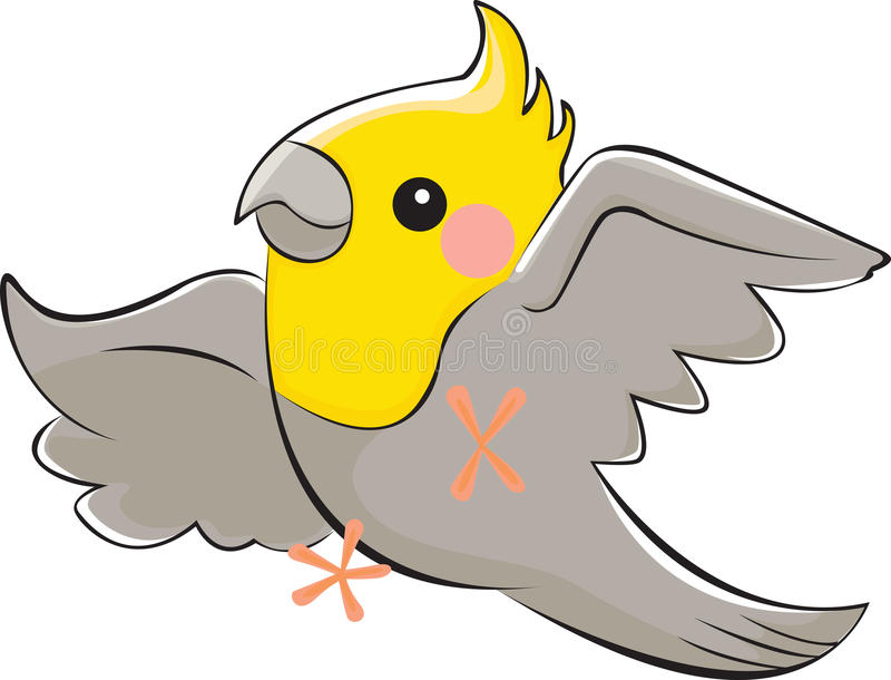 Kakadua vektor illustrationer