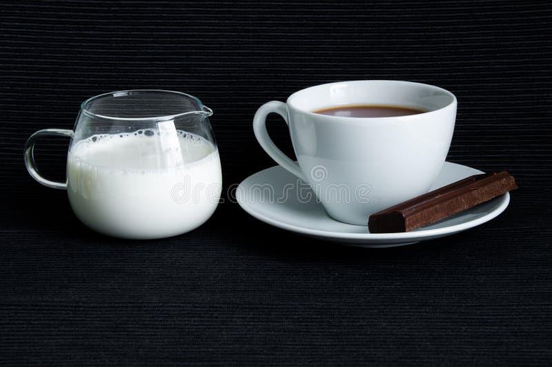 Kakao z mlekiem obraz stock