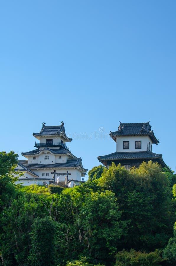 Kakegawa kasztel fotografia royalty free