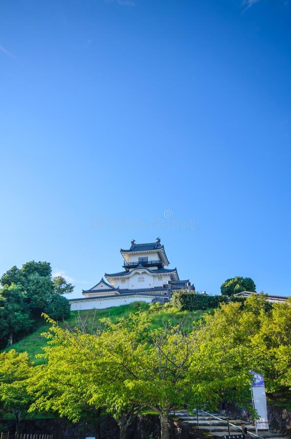 Kakegawa kasztel fotografia stock