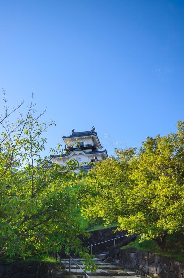 Kakegawa kasztel obrazy royalty free