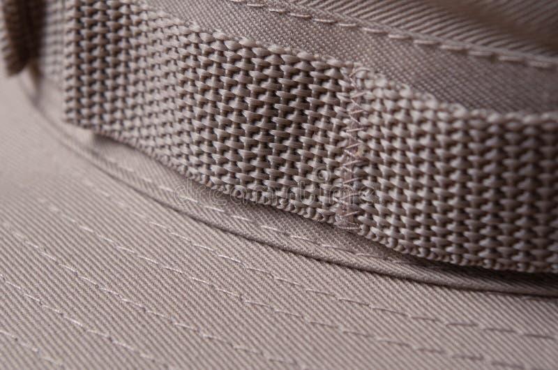 Kaki Bruine Boonie-Hoed stock afbeelding