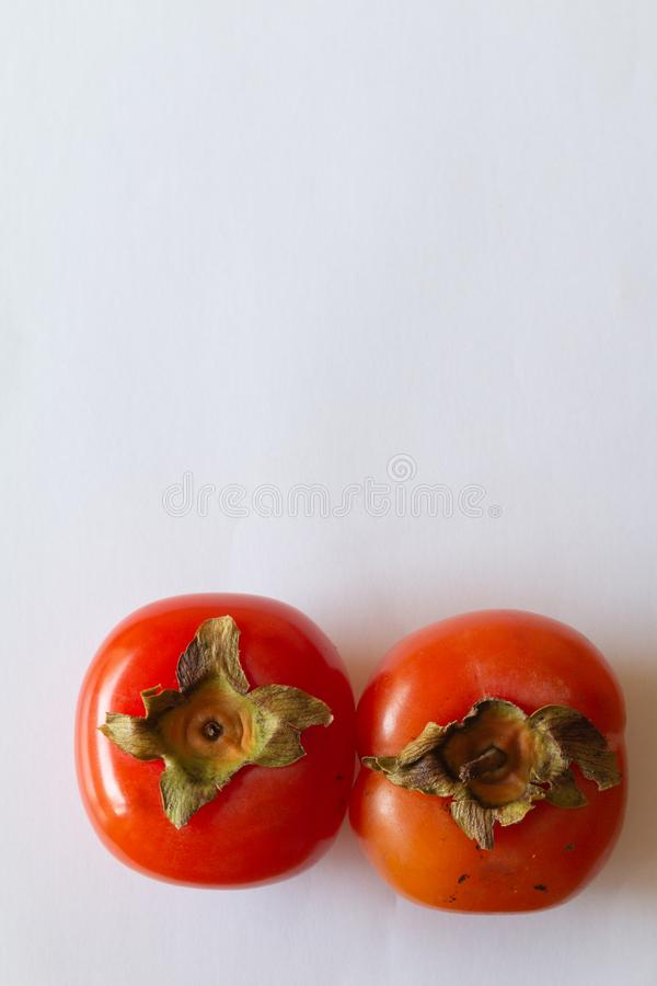 Kaki owoc Persimmon owoc smakowita Japo?ska owoc obrazy royalty free