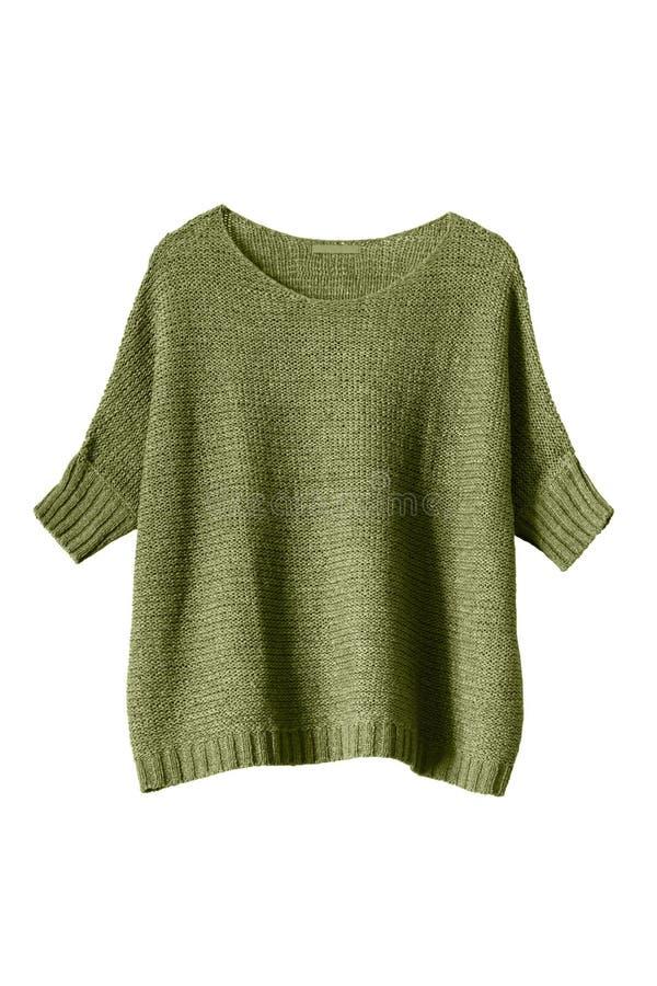 Kaki sweater royalty-vrije stock foto's