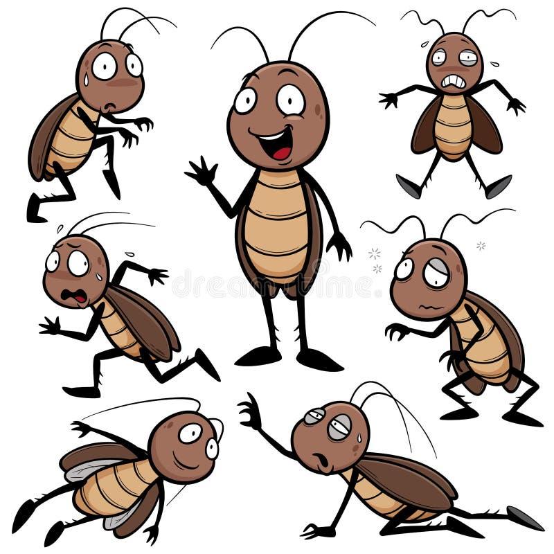 kakkerlak royalty-vrije illustratie