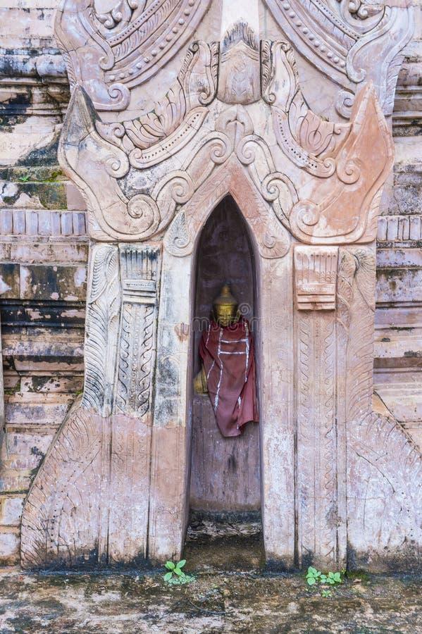 Kakku pagoda Myanmar zdjęcia stock