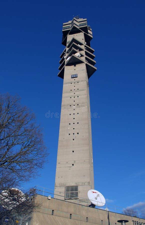 Kaknastornet in Stockholm stockfoto