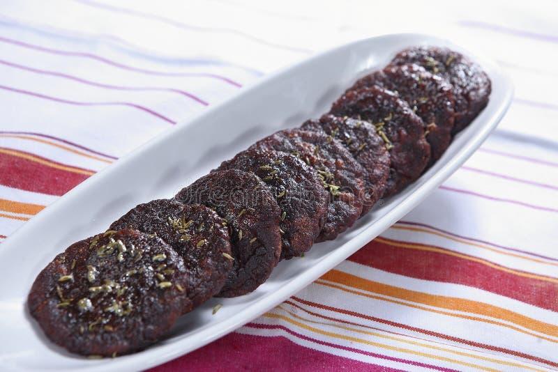 Kakra-Pittabrot, Bonbon frittierte Kuchen stockbild