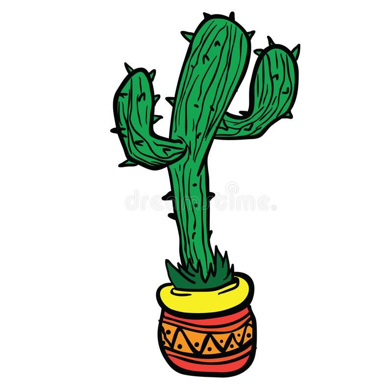 kaktus ilustracji