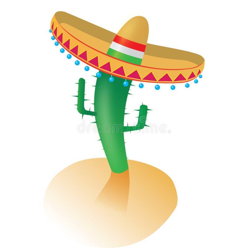 kaktus vektor illustrationer