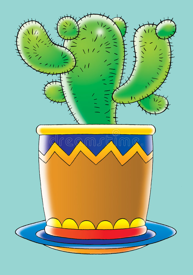 kaktus ilustracja wektor