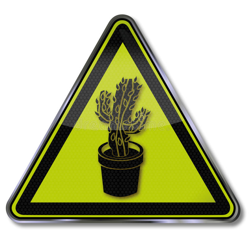 kaktus isolerad kruka vektor illustrationer